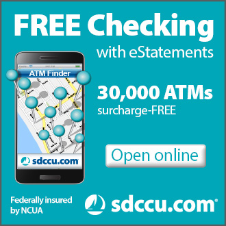 San Diego County Credit Union Web banner